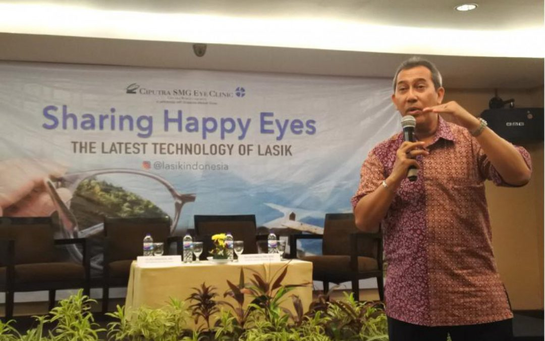 Health Talk Lasik Ciputra SMG Eye Clinic ke Makassar