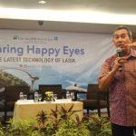 Dokter spesialis mata Ciputra SMG Eye Clinic, dr. Heru Mahendrata Singgih, Sp.M, sebagai pembicara.