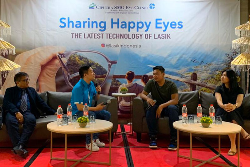 Health Talk: Sharing Happy Eyes Bali Oktober 2019