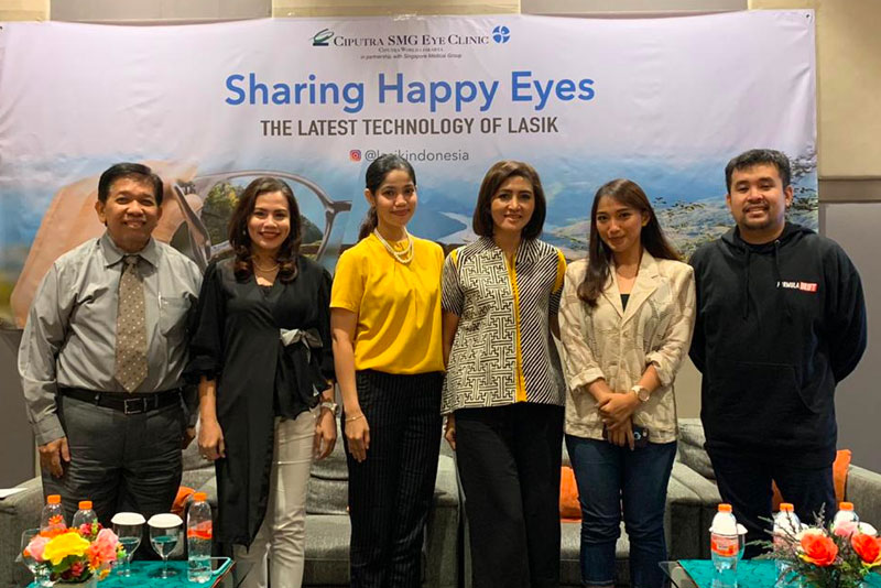 Health Talk: Sharing Happy Eyes di Bekasi November 2019