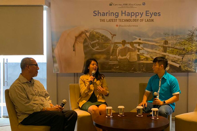 Health Talk: Sharing Happy Eyes Jakarta September 2019