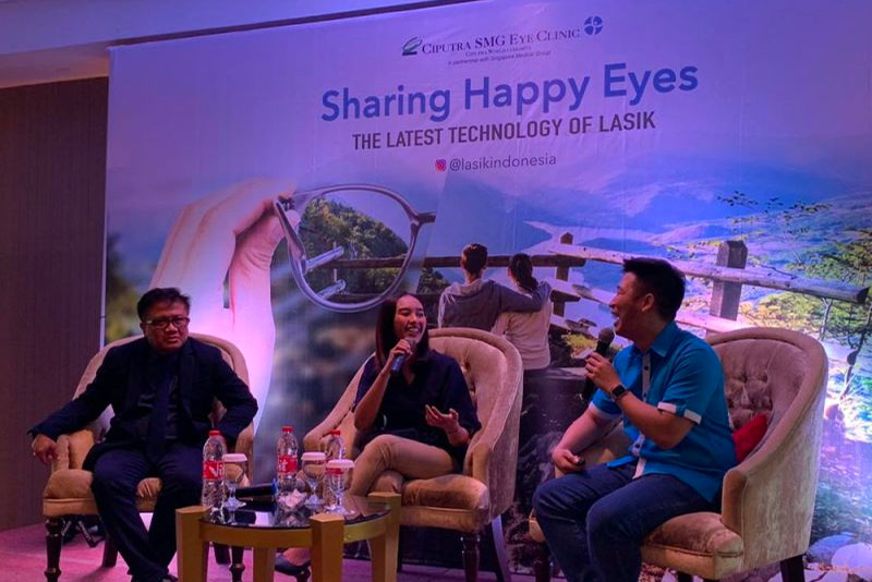 Health Talk: Sharing Happy Eyes Makassar Agustus 2019